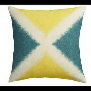 Two Crate & Barrel / CB2 Tie Dyed Accent Pillows